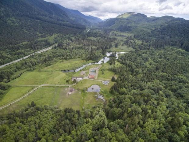 Olympic National Park: Spring Lakes Farm, a 184-acre farm near Olympic National Park, is listed at $1,499,000.