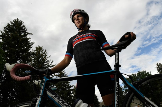 Jillian Bearden is a Colorado Springs cyclist who recently began racing as a woman after several years of racing as Jonathan.