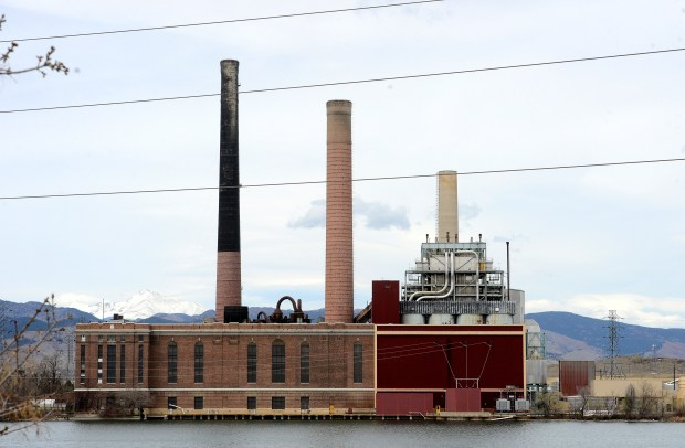 The Valmont Power Plant in Boulder as seen on Friday April 7, 2017.