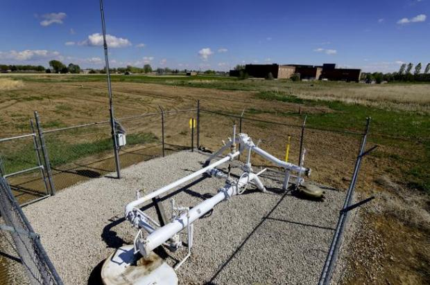 The Rider Well near Trail Ridge Middle School is among the oil and gas wells and pipelines that Longmont will check in the wake of April's fatal home explosion in Firestone.