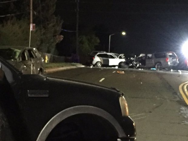 Arvada car crash