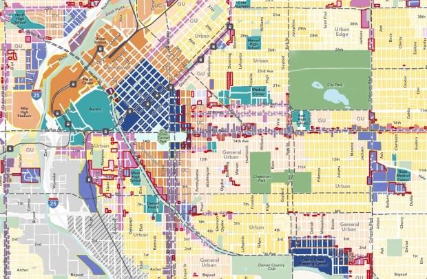 Blueprint Denver map