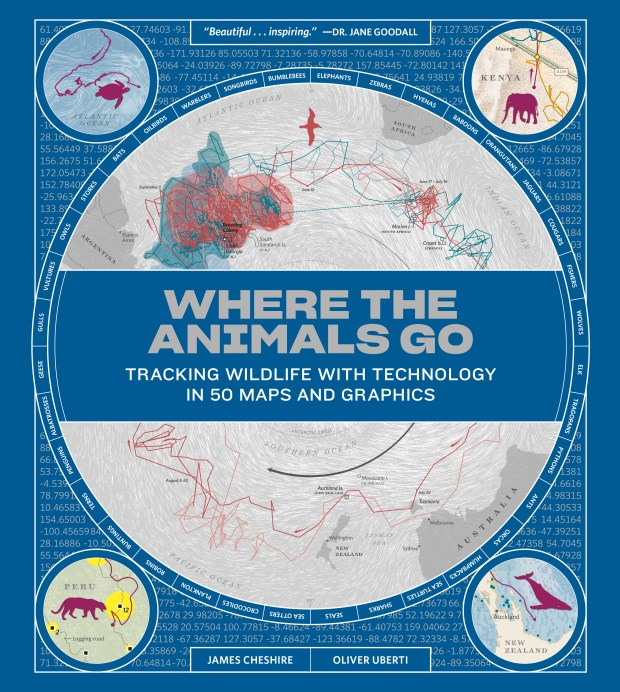 """Where the Animals Go: Tracking Wildlife With Technology in 50 Maps and Graphics"""