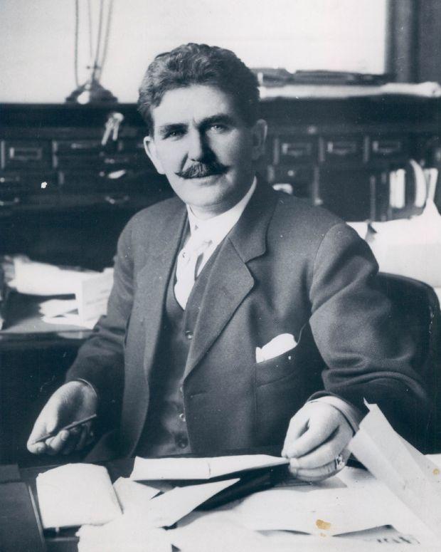 Frederick G. Bonfils, 1912, owner and Publisher of The Denver Post.