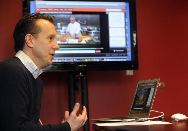 Craftsy co-founder and CEO John Levisay of Craftsy on Monday, January 14, 2013.