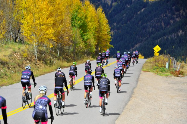The four-day cycling camp the Little Nell puts on every fall is guided by former pro Christian Vande Velde.