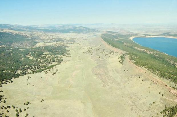 Chimney Hollow, just west of Carter Lake in Larimer County, will be home to a reservoir.