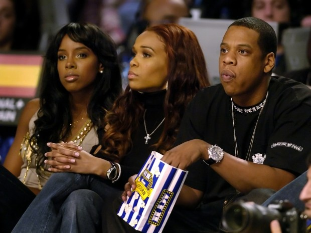 ALLSTAR_ROOKIE_DENVER, CO.___02_20_05__ Jay Z (right) and ...