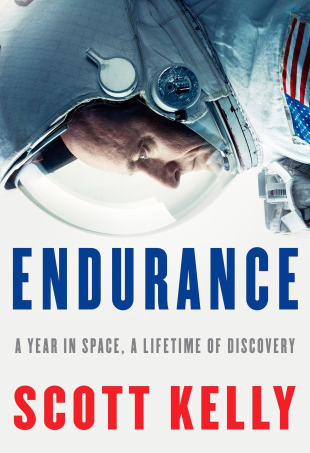 """This cover image released by Knopf shows """"Endurance: A Year in Space, A Lifetime of Discovery,"""" by retired astronaut Scott Kelly."""