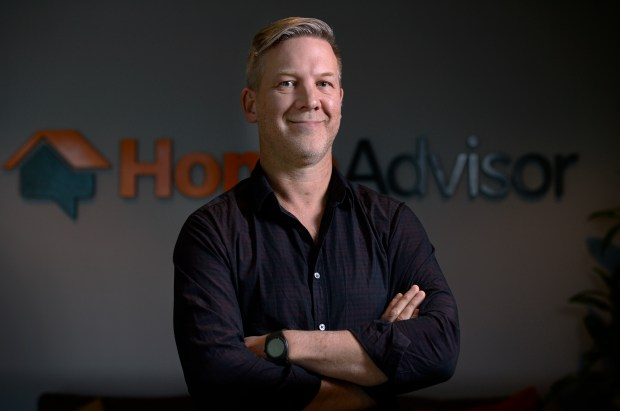 HomeAdvisor CEO Chris Terrill designed the ...