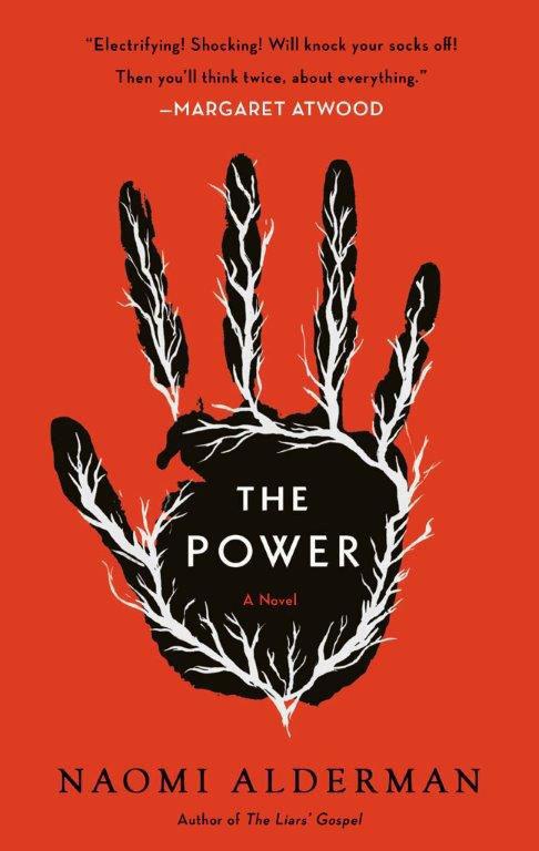"""The Power,"" by Naomi Alderman."