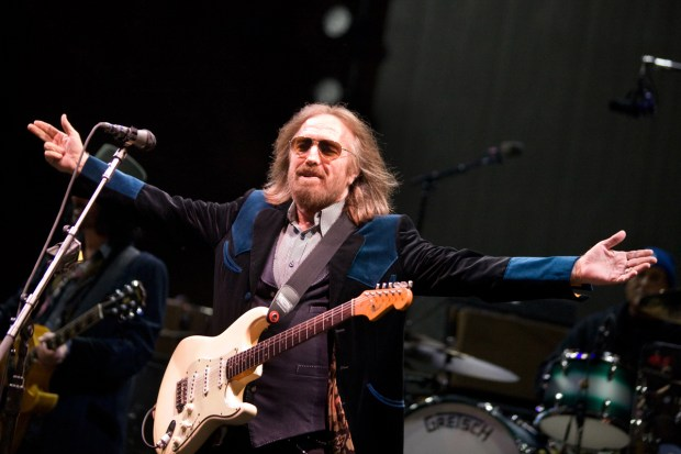 Tom Petty performs at Red Rocks Amphitheatre in Morrison on May 29. Petty died Monday at 66.