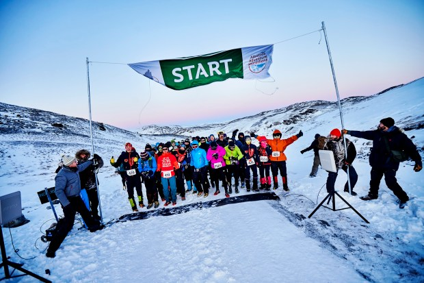 Greenland is the snowy setting for the Polar Circle Marathon, an undeniably cool experience run mostly on a gravel road connecting the Greenland ice sheet with the town of Kangerlussuaq, just north of the Polar Circle. The annual race is held in October.