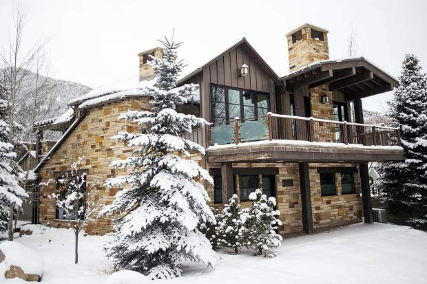 A jury in New York found Scott Tucker, the owner of this rental home at 269 Park Avenue in Aspen, guilty of predatory lending practices.