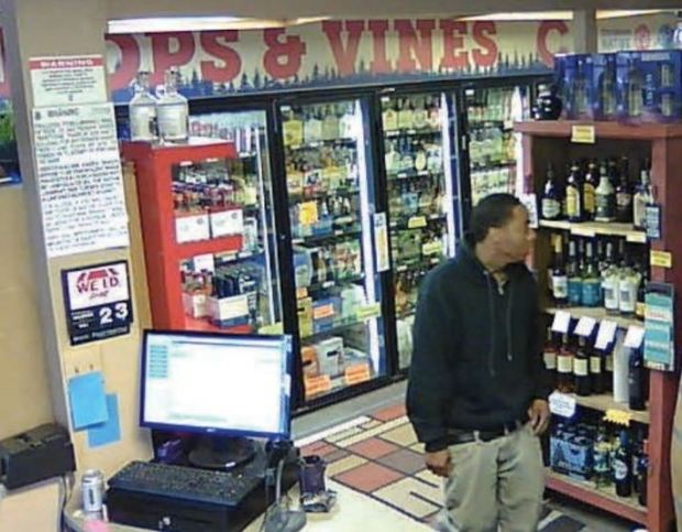 "Three black males approached the female clerk while she was standing outside and then followed her back into the store and demanded money and the safe. One of the suspects placed a gun to her head and followed her back behind the counter while another suspect ordered her to ""get the safe open."""