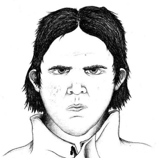 A composite sketch of the suspect in a sex assault on a child in Boulder on Nov. 8, 2017.