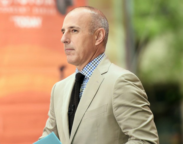 "NBC News fired longtime ""Today"" show host Matt Lauer on Wednesday for ""inappropriate sexual behavior."""
