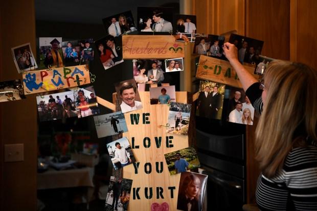 Susan Huschle, whose husband, Kurt, used ...