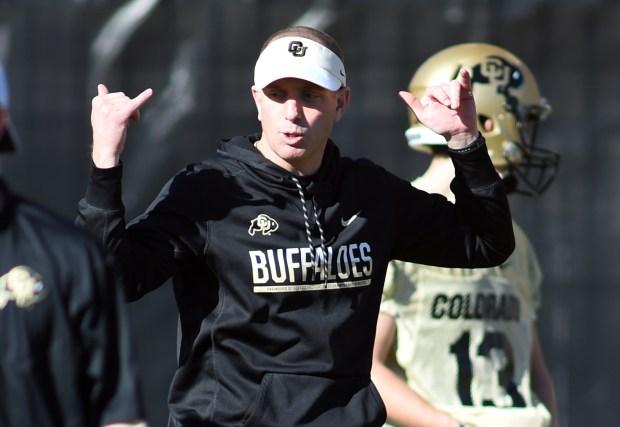 CU co-offensive coordinator, Brian Lindgren