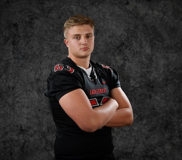 Eaglecrest OL Barrett Miller Dec. 13, ...