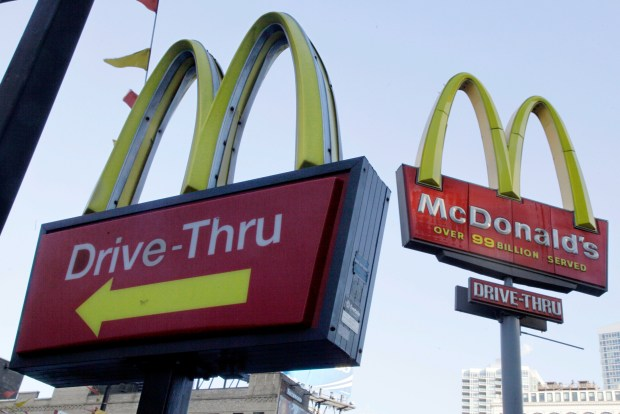 There are 14,000 McDonald's restaurants in the United States.