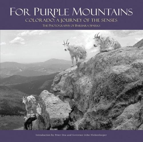 """For Purple Mountains:  Colorado, a Journey of the Senses"" by Barbara Sparks"