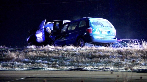 A fatal crash on I-70 and Tower Road.