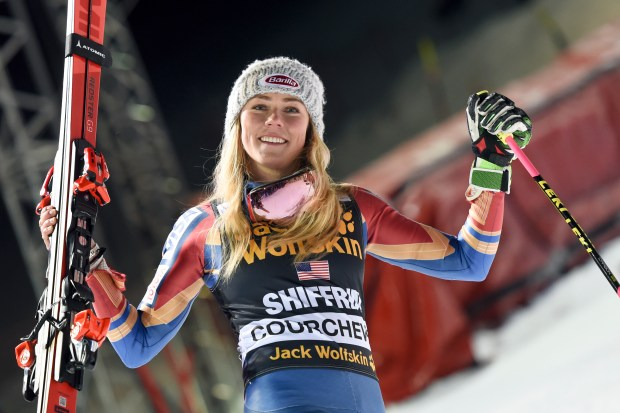 Mikaela Shiffrin of the United States ...