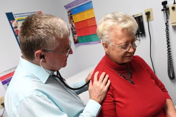 Doug Miller, a nurse practitioner who ...