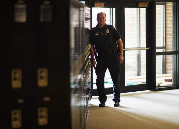 School Resource Officer Stacey Collis, of ...