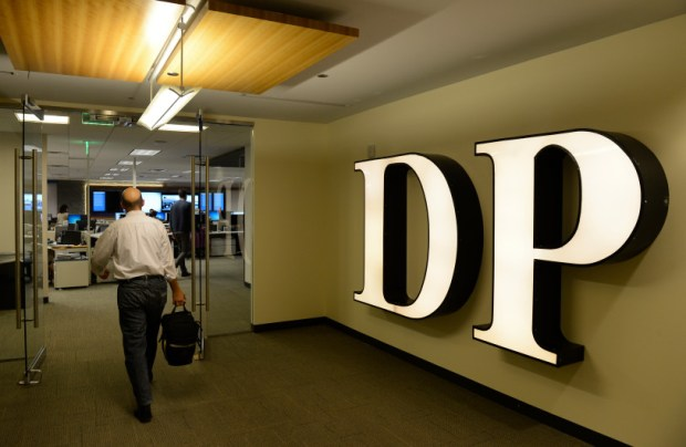 The Denver Post's newsroom is moving from its downtown location to Adams County this weekend. The newspaper also recently began charging for access to articles on its website.