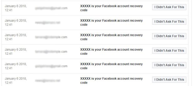 "Getting suspicious emails like password resets from Facebook? In a user's ""Security and Login"" settings, Facebook lets you tell the company whether you asked to reset your password or not."