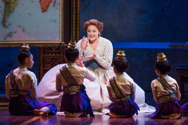 """Madeline Trumble plays Anna in """"The King and I,"""" which is at the Buell Theatre through Sunday."""