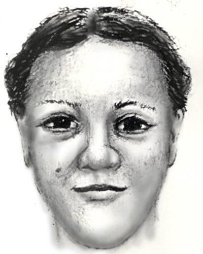 """A Washington police sketch of the woman sought in the April Nicole Williams abduction in 1983. She gave her name as """"Latoya."""""""