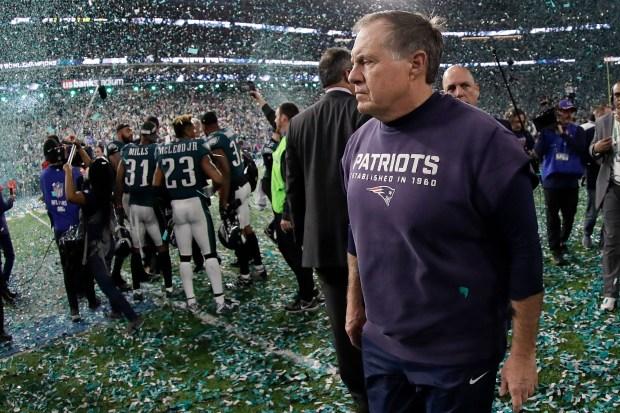 New England Patriots head coach Bill ...