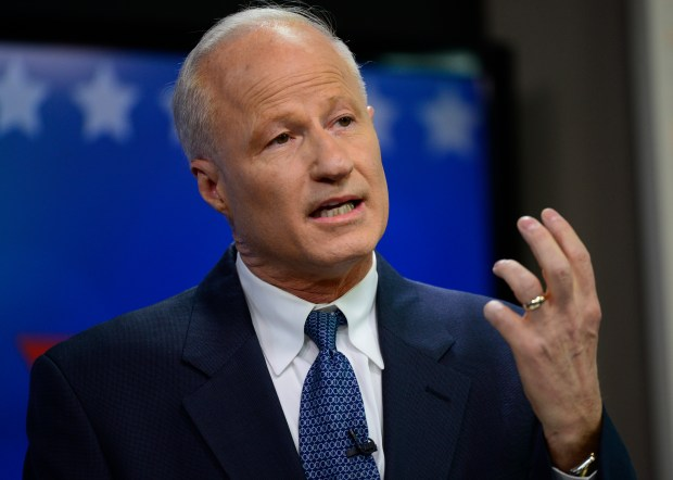 Colorado's U.S. Rep. Mike Coffman of Aurora faces re-election this year in a district that Hillary Clinton carried in the 2016 presidential election.