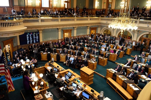 The Colorado legislature opens its 2018 session on Jan. 10 at the state Capitol.