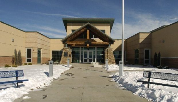 The front entrance to Mountain View Elementary School is shown in this Gazette file photo.