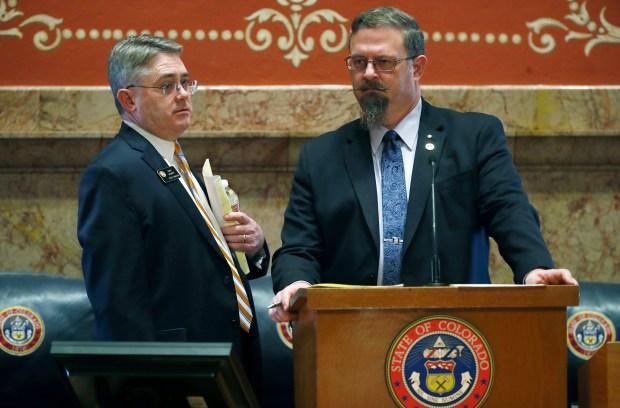 Colorado State Sen. Chris Holbert, R-Highlands ...