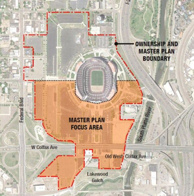 A map provided by the city shows the potential redevelopment area of about 52 acres.