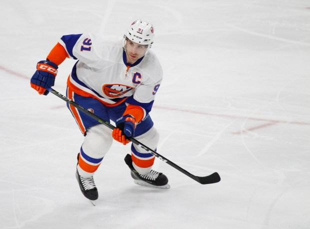 New York Islanders center John Tavares ...