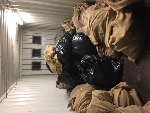 large bags of marijuana