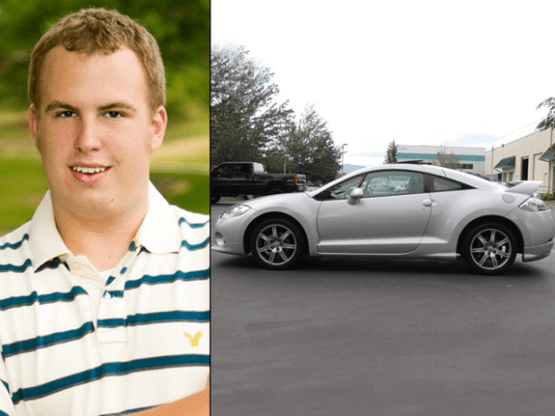 Victim Andrew Jenicek grew up in Littleton and was living in Lakewood when he was fatally shot. Edgewater police are searching for a vehicle described as a silver or white sedan, possibly a Mitsubishi Eclipse.