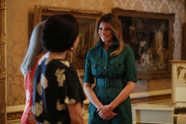 4310d1670 A year into the presidency, Melania Trump raises her profile – The ...