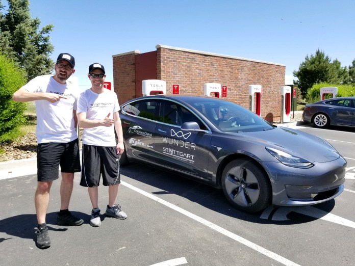 How Far Can A Tesla Drive On One Charge Two Denver Tesla Owners Attempt Record To Find Out