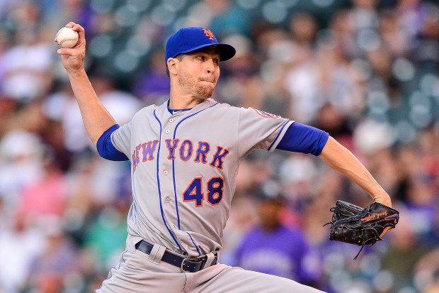 Jacob deGrom #48 of the New ...