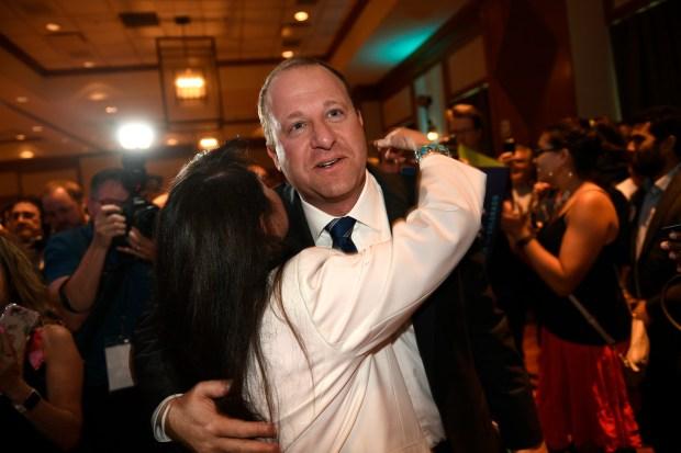 Democratic gubernatorial candidate Jared Polis gets ...