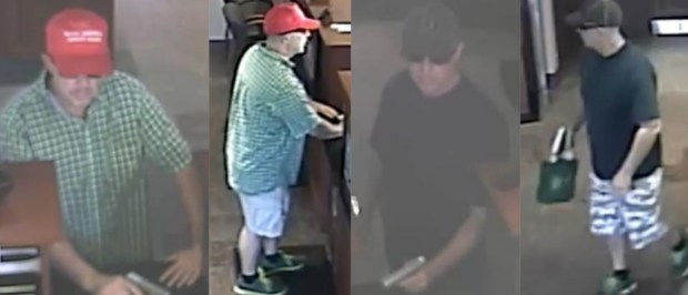 Suspect in two armed robberies in Littleton.
