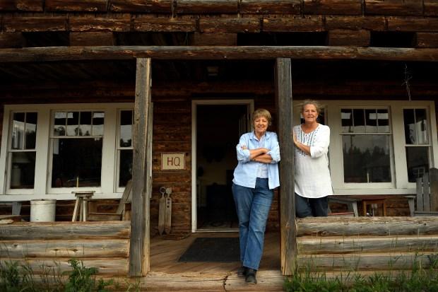 Sisters Sam Law and Deb Lathrop ...