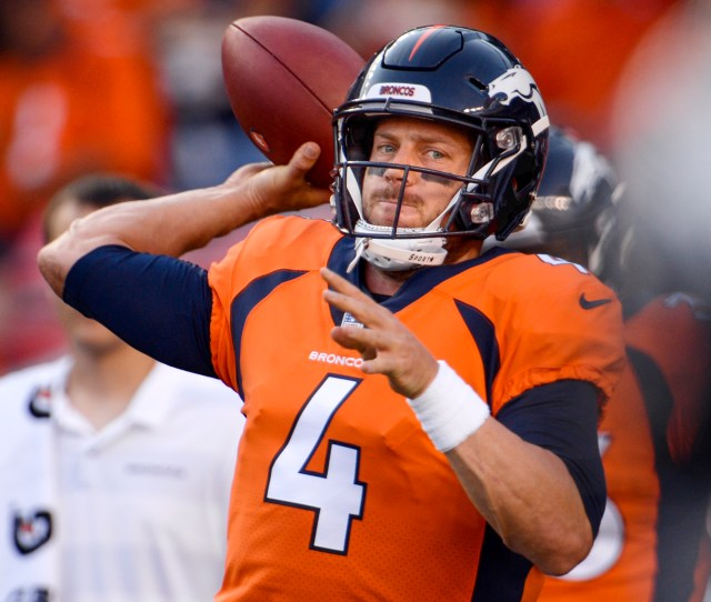 Broncos To Trade Quarterback Case Keenum To Redskins According To League Source